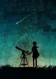 watching a shooting star